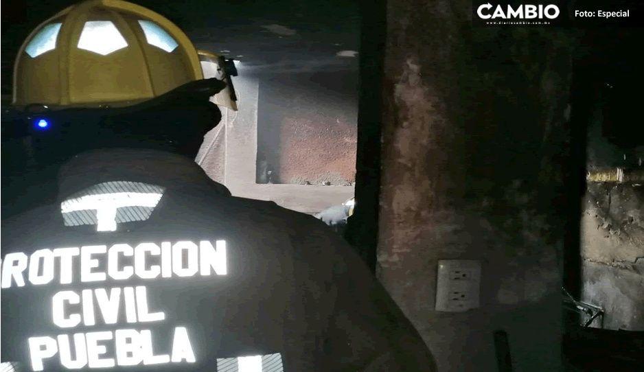 ¡Susto en Los Héroes! Explota tanque de gas dentro de una casa (FOTOS y VIDEO)