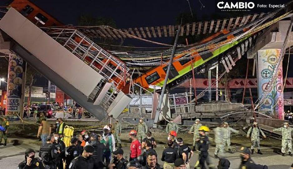 Colapso de Línea 12 cobra 24 muertos; 21 fallecieron en el accidente y 3 en el hospital