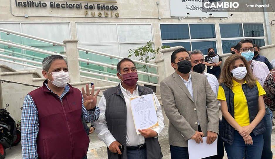 Concluye recuento votoXvoto en Amozoc; Mario de la Rosa recibe constancia de mayoría