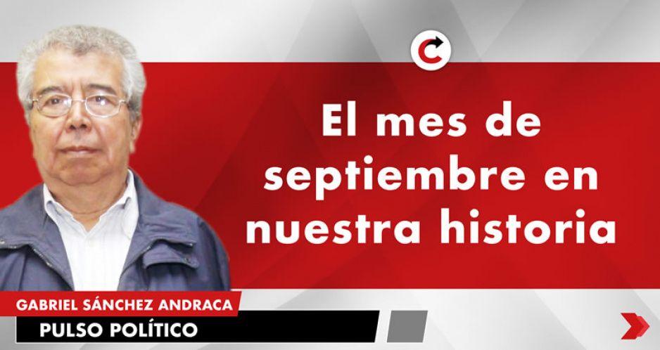 El mes de septiembre en nuestra historia
