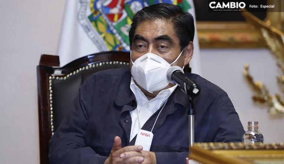 Barbosa pide a diputados y senadores buscar proyectos federales para Puebla