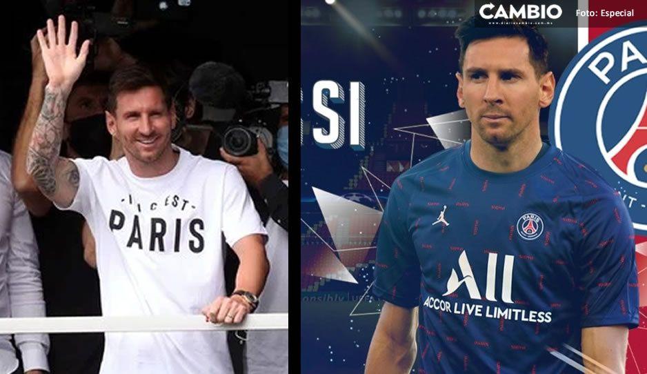 ¡Ya es oficial! Messi firma para dos temporadas en París Saint-Germain
