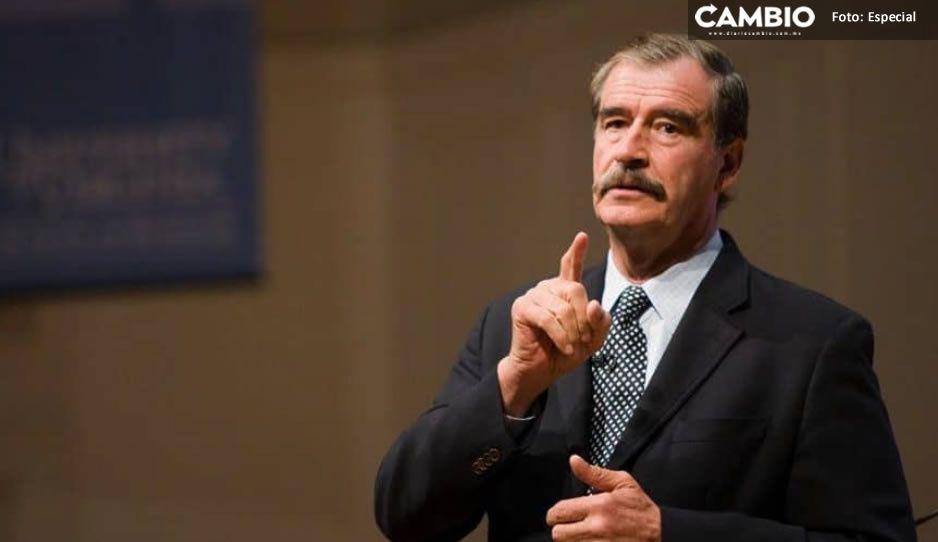 ¡Recuerda las jeringas con atole! Así pide Vicente Fox NO votar por Morena