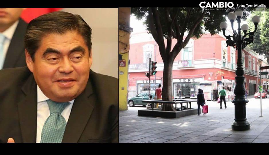 Puebla levantará el confinamiento de forma gradual, anuncia Barbosa