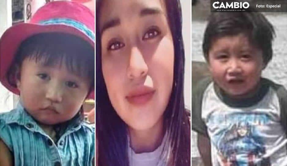 Continúan buscando a Paola y sus hijitos que quedaron atrapados en el deslave del Chiquihuite