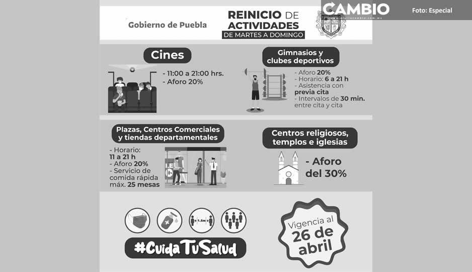 Emite Ayuntamiento de Texmelucan medidas para el regreso a las actividades