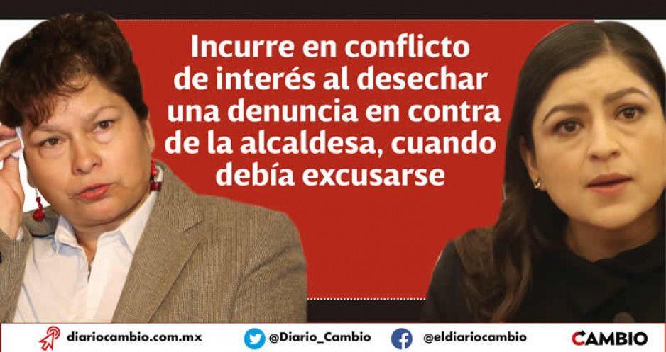 Mamá Vivanco protegió a Claudia en la Comisión de Honor de Morena pese al conflicto de interés