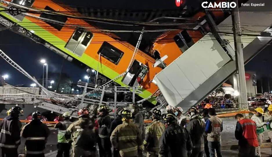 """""""Caían como resbaladilla"""": Enrique narra cómo sobrevivió al trágico desplome del Metro"""