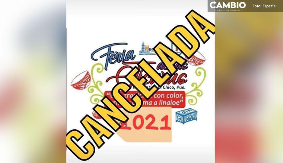 Por culpa del COVID; cancelan la Feria de las Jícaras en Huehuetlán el Chico