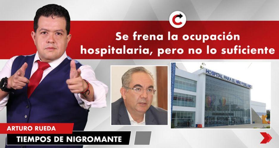 Se frena la ocupación hospitalaria, pero no lo suficiente