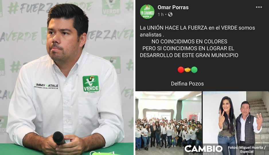 Natale deslinda al PVEM de la traición de sus candidatos a favor de Delfina Pozos (VIDEO)