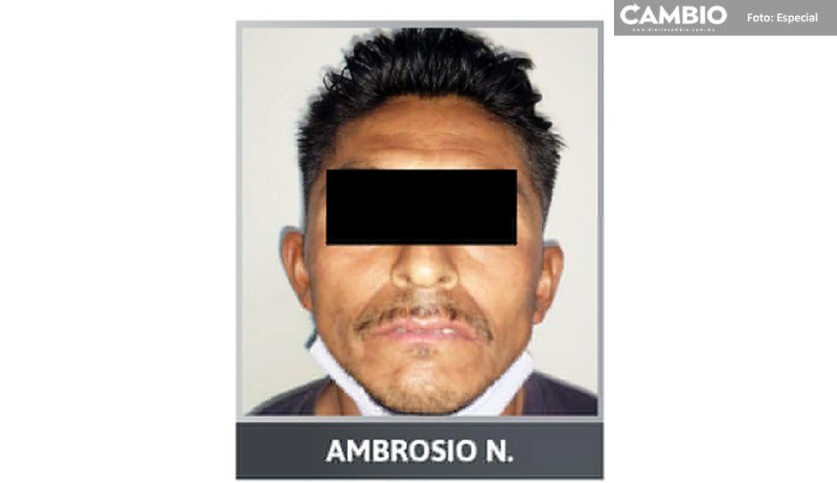 Intento de feminicidio en Tehuacán: Ambrosio quiso matar a su ex con un mazo