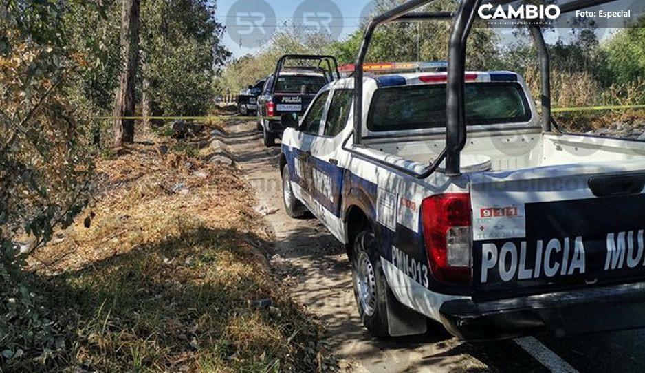 Encuentran cuerpo flotando en canal de aguas negras en Xoxtla rumbo a Val'Quirico