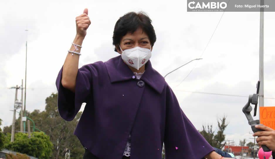 Lilia Cedillo se compromete a reconocer a maestros por carga de trabajo en pandemia (VIDEOS)