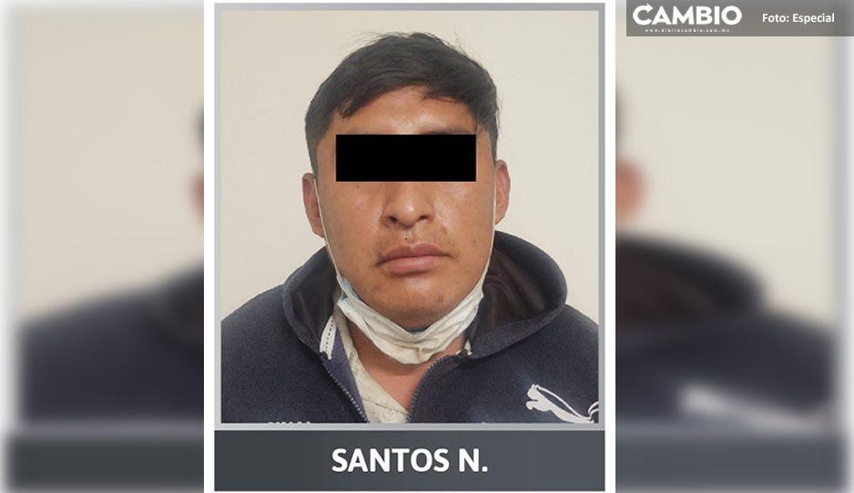¡Depravado! Detienen a violador de una niña en Zinacatepec