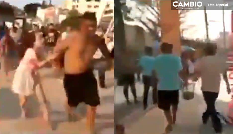 Somos de Tepito y van a mamar: turistas tepiteños arman trifulca en Acapulco (VIDEO)