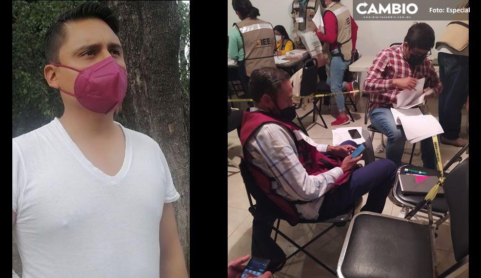 ¡Se calientan los ánimos del Distrito 19! Iván Herrera manda grupo para intimidar a consejeros