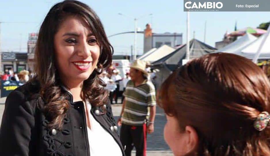 En dos años, Angélica Alvarado sólo destinó  37 millones para obras en Huejotzingo