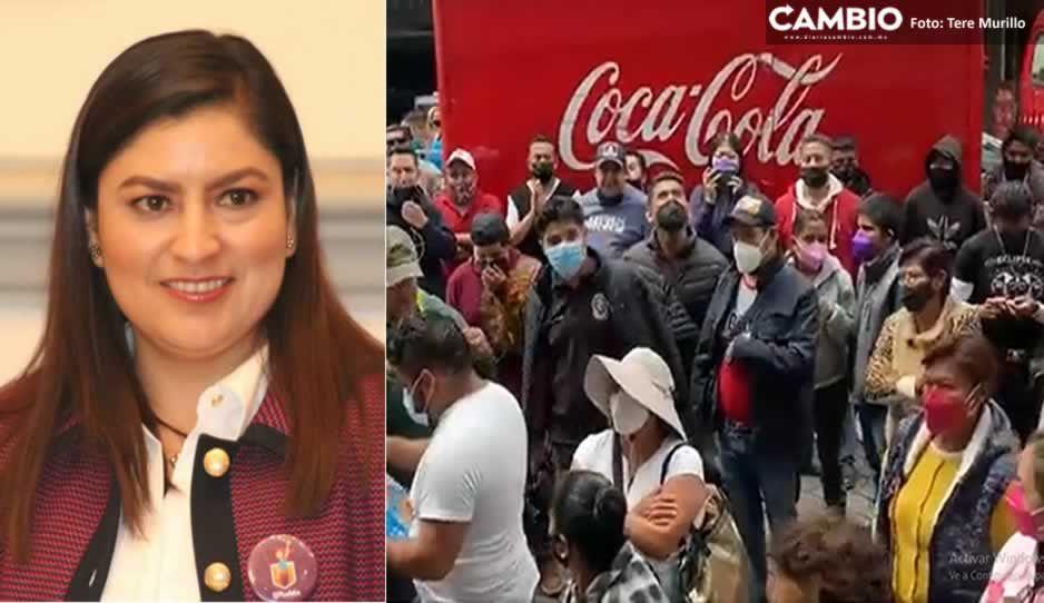 ¡Claudia premia a ambulantes! Autoriza instalación durante los festejos patrios
