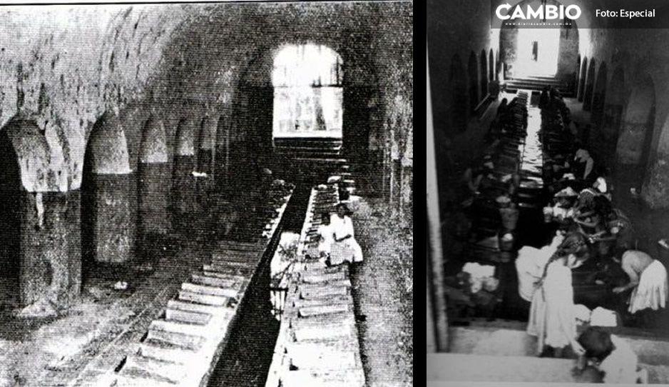 FOTOS: Conoce como lucían los Lavaderos de Almoloya hace 200 años, cuna del chisme poblano