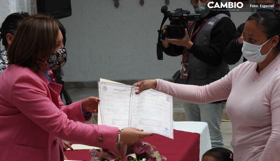 DIF de Teziutlán entrega actas de nacimiento sin costo a niños y niñas entre 6 meses y 5 años de edad