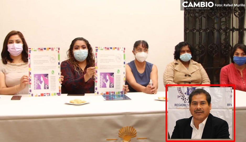 Red Plural de Mujeres pide al IEE revisar las candidaturas de políticos misóginos como Inés Saturnino  (VIDEO)