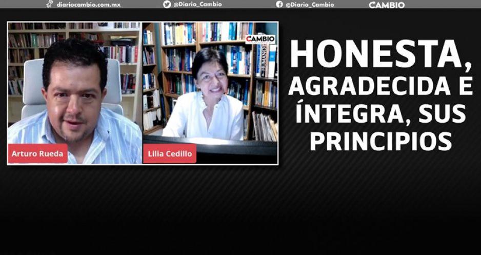 Define rectora electa sus prioridades al frente de la BUAP: Seguiré como docente (VIDEO)