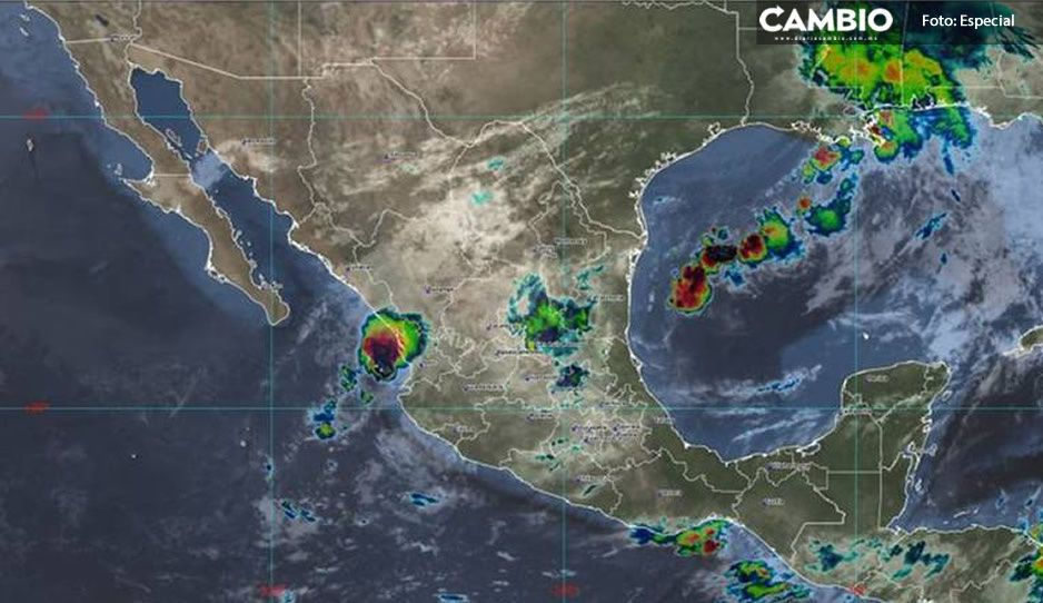 Lloverá en Puebla, pero no caerá ceniza del Popo este día, pronostican autoridades
