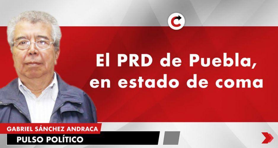 El PRD de Puebla, en estado de coma