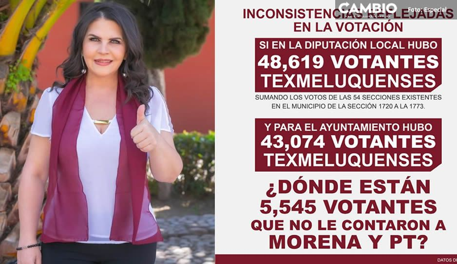 Defiende Norma Layón su triunfo y dice qué hay más de 5 mil votos perdidos