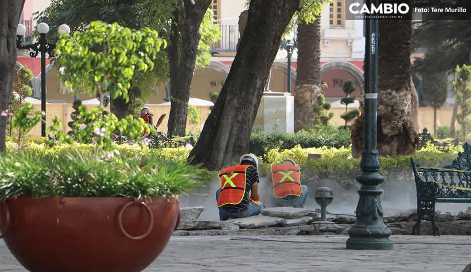 ¿Sedatu cancela obras del zócalo y el Mercado Amalucan? sólo tiene dos obras contempladas para Puebla