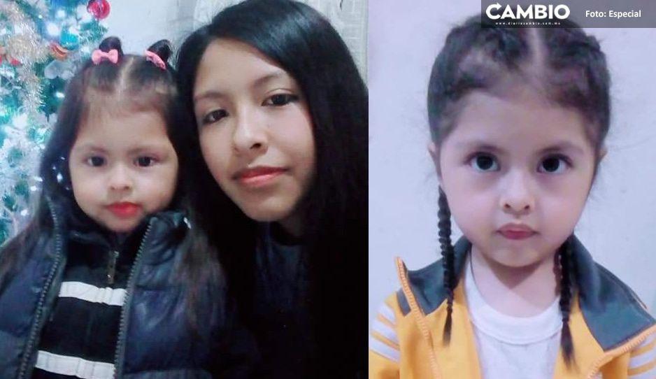 ¡Ayuda a encontrarlas! Desaparece Vanessa y su hijita Camila en Palmar de Bravo