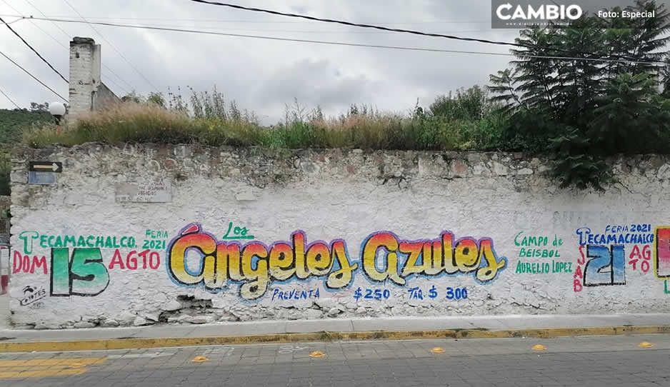 Organizan bailongos para la Feria de Tecamachalco en plena tercera ola de COVID