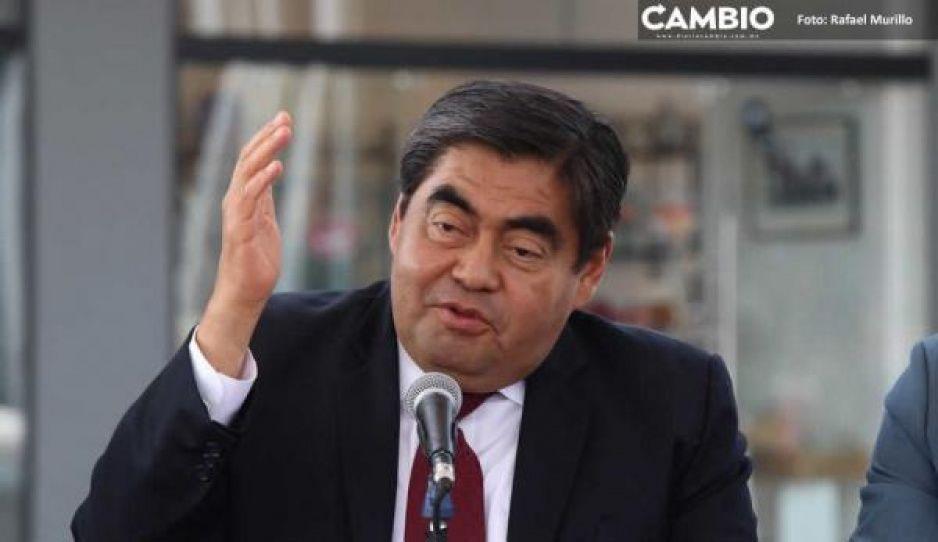 En Puebla no habrá 'vacunas de aire', afirma Barbosa
