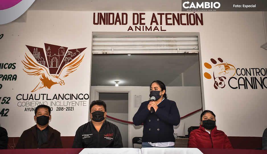 Inaugura Lupita Daniel Unidad de Atención Animal en San Lorenzo Almecatla