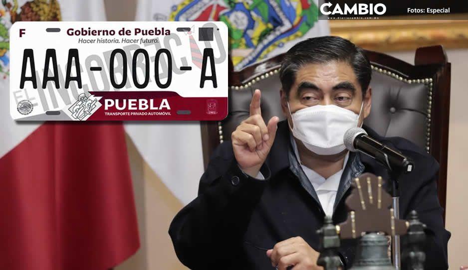 Canje de placas costará de 400 a mil pesos, tarjeta de circulación será gratuita (VIDEO)