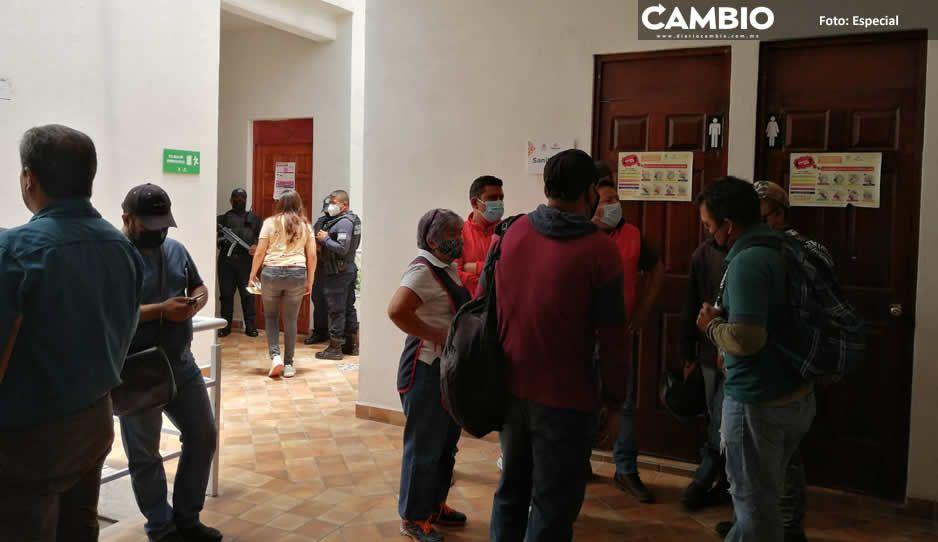 Sin justificación alguna corren a 30 empleados del Ayuntamiento de Tehuacán