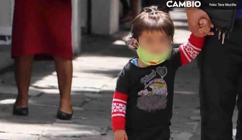 Pandemia mata a 57 niños en Puebla; van 2 mil 434 menores infectados