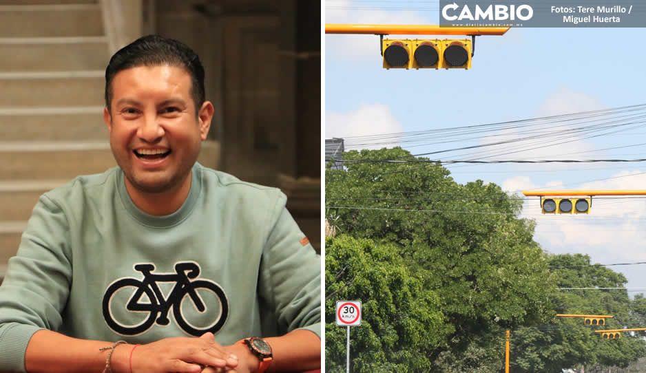 Claudia invirtió 11 millones para mejorar la semaforización, pero diario hay 19 reclamos (FOTOS Y VIDEO)