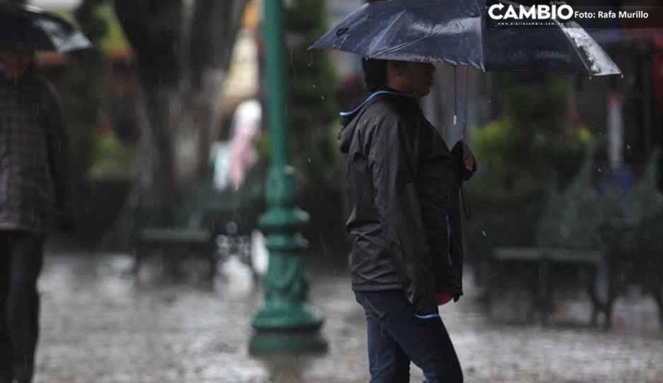 ¡Alerta poblano! Persistirán lluvias y posibles granizadas para este lunes