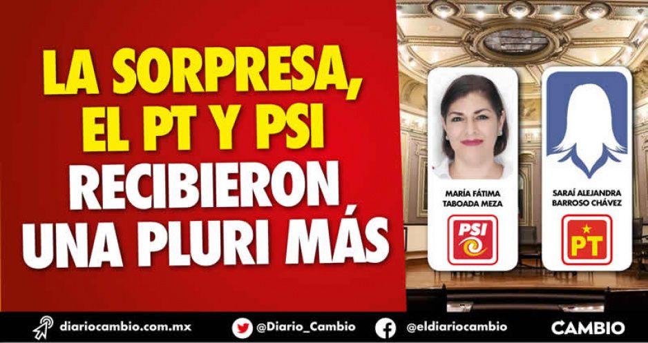 Confirmado: Tonantzin y Garmendia no entraron como pluris; le dieron 2 al PSI con sólo el 3 % de votos (FOTOS)