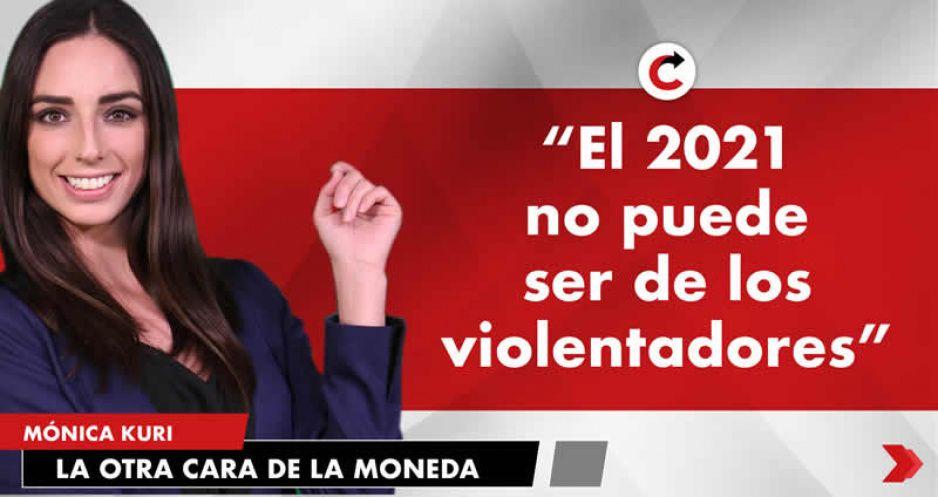 """""""El 2021 no puede ser de los violentadores"""""""