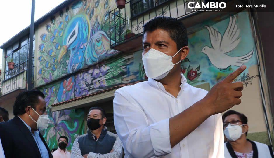 Lalo Rivera busca eventos internacionales en Puebla para reactivar la caída del turismo (FOTOS Y VIDEO)