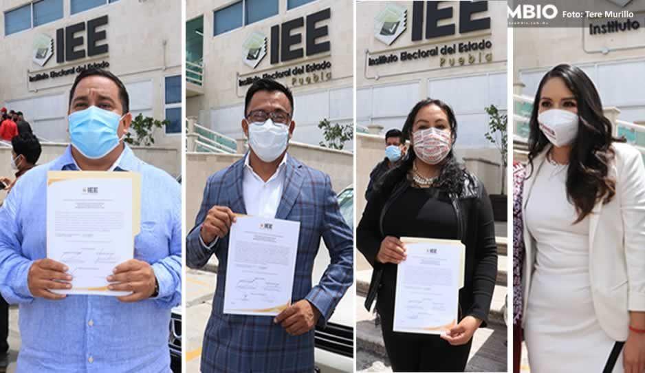 IEE entrega constancias a Evangelista, Garmendia, Tonantzin y Eliana Angélica, tras fallo del TEPJF