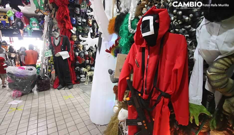 ¿Lo quieres para Halloween? Aquí puedes conseguir el disfraz del 'Juego del Calamar' en Puebla