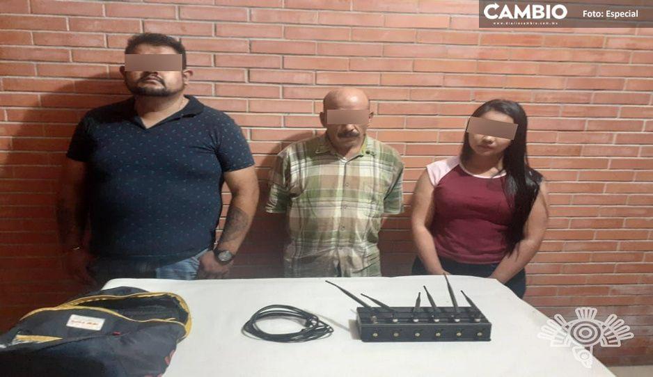 Cae presunta banda dedicada al robo de vehículos en Venustiano Carranza