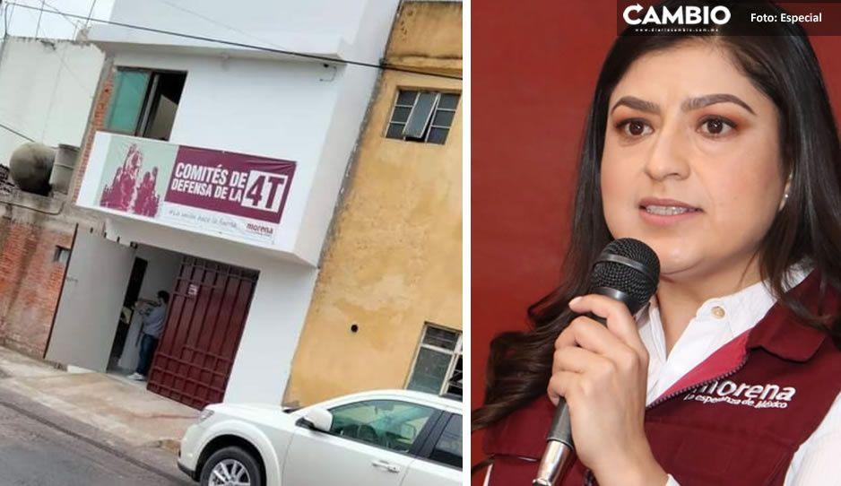 Descubren mapachera a favor de Claudia en La Loma; dan mil pesos por copia del INE