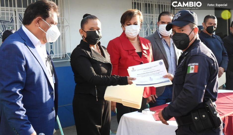 El presidente Carlos Peredo le cumplió a los teziutecos en materia de Seguridad Pública