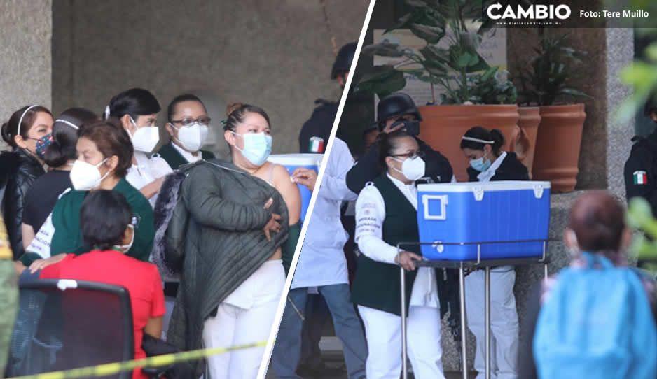 Vacunan a médicos que no atienden Covid, acusan en el IMSS La Margarita