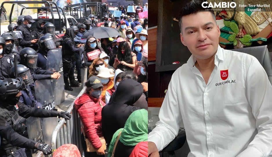 ¡Al estilo de Ovidio Guzmán! Amenazan con paralizar Puebla si no liberan al hermano de El Toñín (VIDEO Y FOTOS)